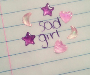 pink, sad, and grunge image