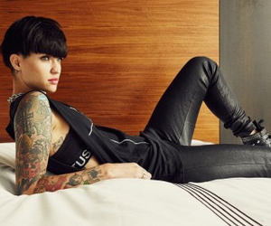 Hot, model, and ruby rose image
