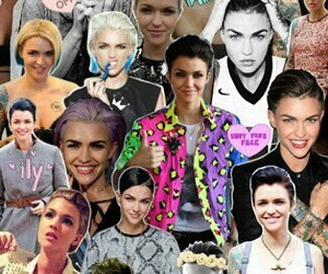 ruby rose, Collage, and wallpaper image