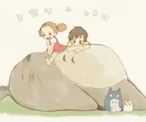 totoro, kawaii, and anime image