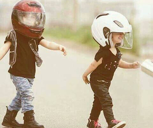 biker, brothers, and children image