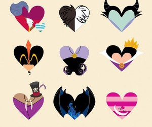disney, wallpaper, and hearts image