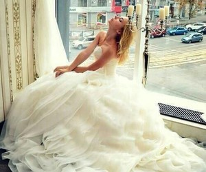 blanco, dress, and married image