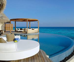 beautiful, swimming pool, and water image