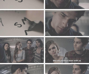 lydia, scott, and teen wolf image