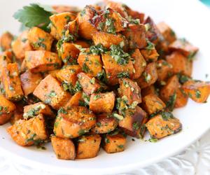 cilantro, parsley, and sweet potato image