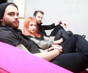 paramore, hayley williams, and jeremy davis image