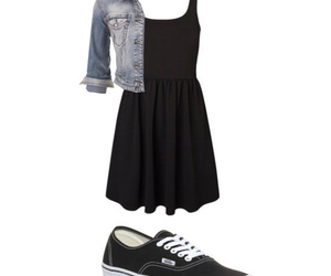 black, Hot, and Polyvore image