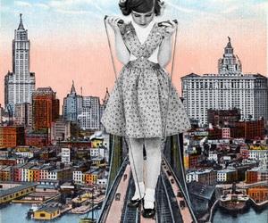 bridge, jump, and Collage image