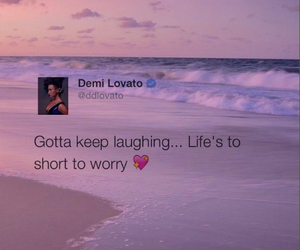 demi lovato, quote, and tweet image