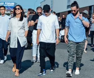 fashion, menswear, and street style image