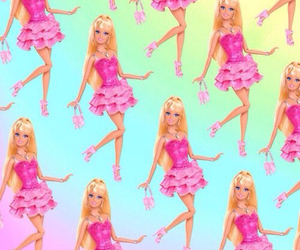 barbie, wallpaper, and doll image