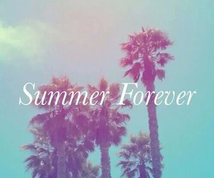 summer, beach, and forever image