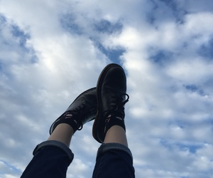 sky, aesthetic, and grunge image