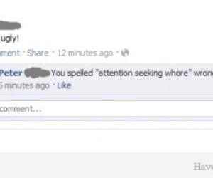 9gag, ATTENTION WHORE, and facebook image