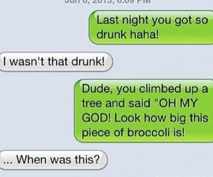 broccoli, messages, and funny image