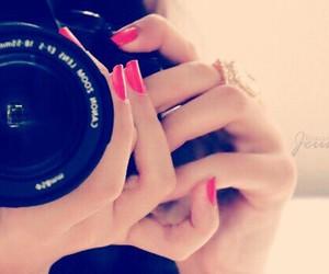 camera, nails, and photography image