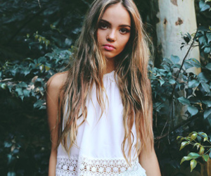 model, inka williams, and girl image