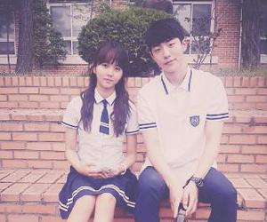 who are you, kim so hyun, and school2015 image