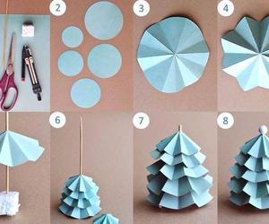 diy, christmas, and tree image