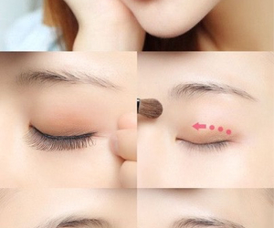ulzzang, korean makeup, and ulzzang makeup image