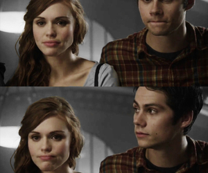 teen wolf, stydia, and stiles stilinski image