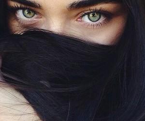 eyes, beautiful, and girl image