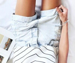 denim, outfits, and summer image