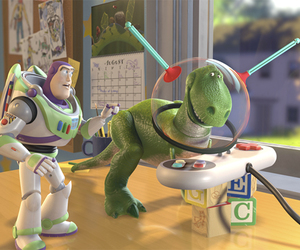 toy story and REX image