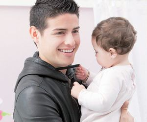 james rodriguez, baby, and james image