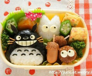 food, totoro, and cute image