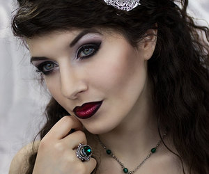 barrette, gothic jewelry, and victorian jewelry image