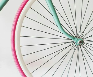 bicycle and pink image