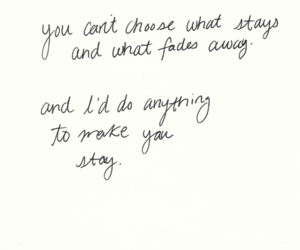 quote, love, and stay image
