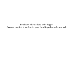 happy, hard, and let go image