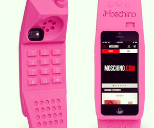 Moschino, pink, and barbie image