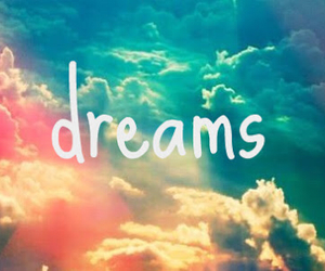 Dream, clouds, and sky image