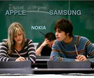 apple, nokia, and samsung image