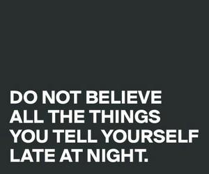 believe, black, and night image