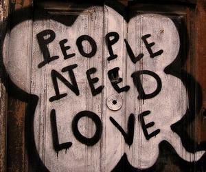 love, people, and need image