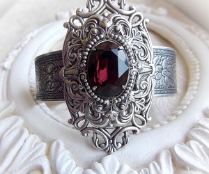 burgundy, gift for her, and royal jewelry image
