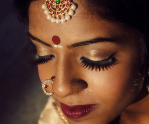 bindi, indian, and look image