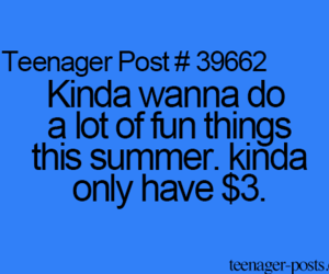 funny, teenager post, and summer image