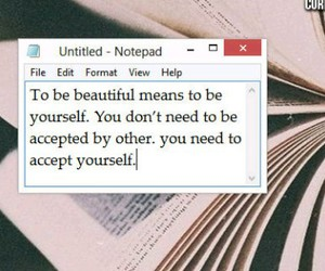 accept, alternative, and beautiful image