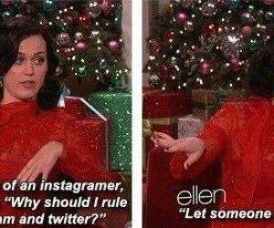 katy perry, lol, and queen of twitter image