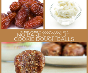 coconut, cookie, and recipe image
