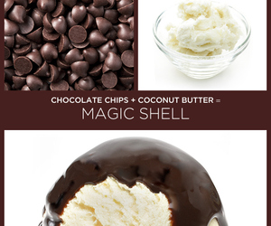 chocolate chips, diy, and recipe image