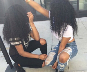 hair, curls, and goals image