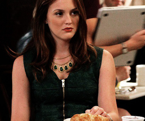 blair waldorf, caffee, and croissants image