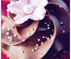baking, cupcakes, and decoration image